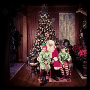 Stranahan House Santa and Elves
