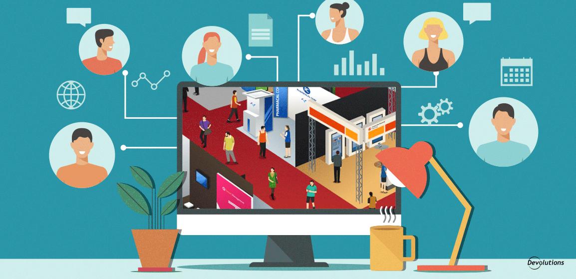 Blog 40 - 4 Virtual Volunteering Ideas For Virtual Conferences